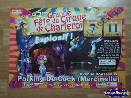 Affiche magasin de La Grande Fête du Cirque de Charleroi-2013 (n°272)