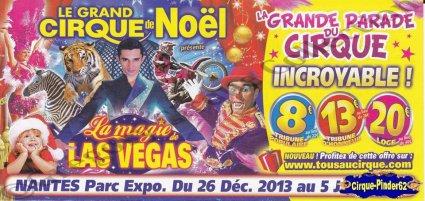 Flyer de La Magie de Las Vegas-2013/2014 (n°604)