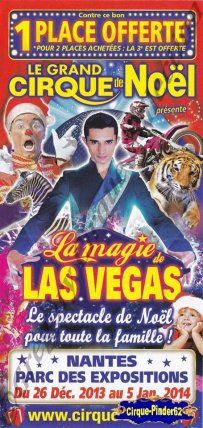 Flyer de La Magie de Las Vegas-2013/2014 (n°605)