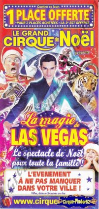 Flyer de La Magie de Las Vegas-2013 (n°610)