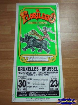 Affiche magasin du Circo Il Florilegio-1991 (n°287)