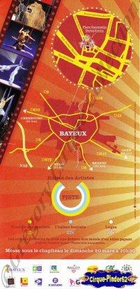 Flyer du Festival International du Cirque de Bayeux-2011 (n°614)