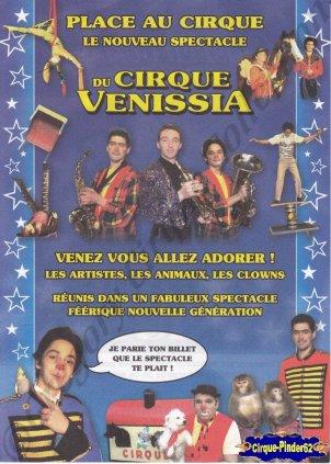 Flyer du Cirque Venissia (n°680)