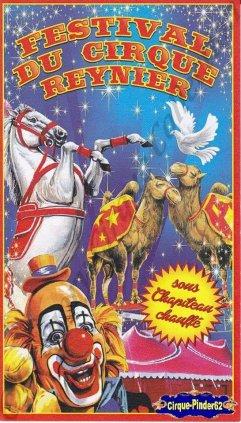 Flyer du Festival du Cirque Reynier-2014 (n°678)