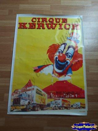 Affiche murale du Cirque Kerwich (n°302)
