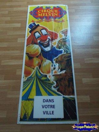 Affiche plastique du Cirque Melvin-2010 (n°56)