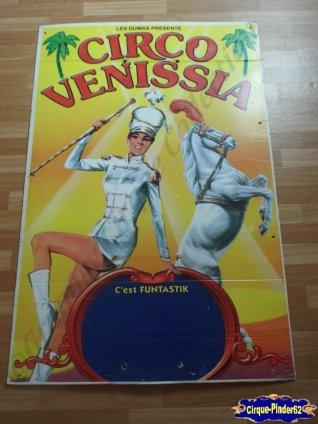 Affiche plastique du Cirque Venissia-2005 (n°28)