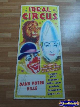 Affiche plastique du Idéal Circus (n°55)