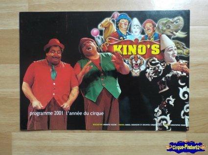Programme du Cirque Kino's-2001 (n°32)