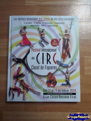 Programme du Festival International du Cirque de Figuères-2014 (n°36)