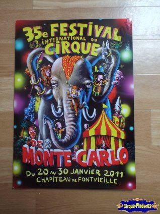Programme du Festival International du Cirque de Monté-Carlo-2011 (n°29)