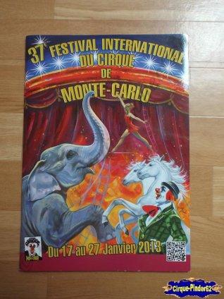 Programme du Festival International du Cirque de Monté-Carlo-2013 (n°16)