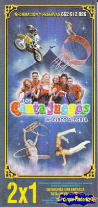 Flyer du Circo Alegria-2014 (n°756)
