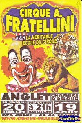 Flyer du Cirque Fratellini (Alain)-2012 (n°789)