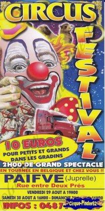Flyer du Circus Festival-2014 (n°787)