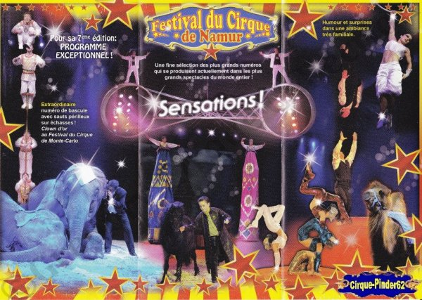 Flyer du Festival du Cirque de Namur-2011 (n°816)