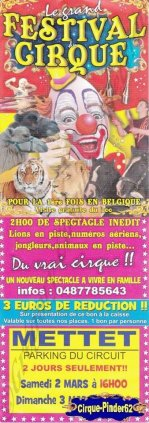 Flyer du Festival Circus Show (n°815)