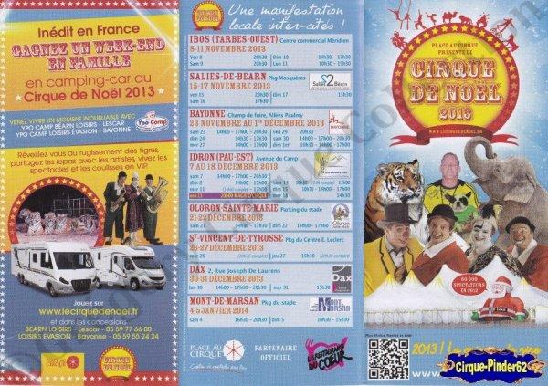 Flyer du Cirque de Noël-2013/2014 (n°840)
