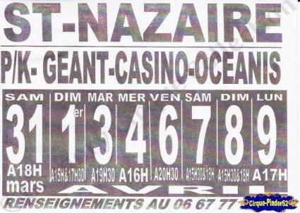 Flyer du Cirque Zavatta (n°843)
