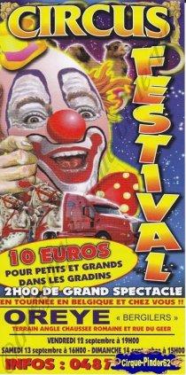 Flyer du Circus Festival-2014 (n°830)