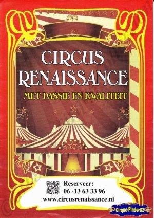 Feuille a4 du Circus Renaissance-2014