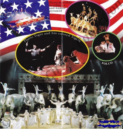 Flyer de l'American Circus-2003 (n°861)
