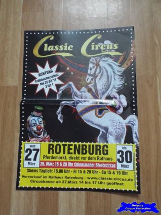 Affiche magasin du Classic Circus-2014 (n°656)