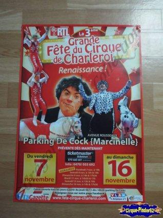 Affiche magasin de La Grande Fête du Cirque de Charleroi-2014 (n°429)