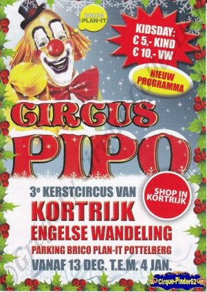 Flyer du Circus Pipo-2014/2015 (n°894)