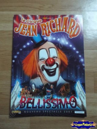 Programme du Cirque Jean Richard-2007 (n°60)