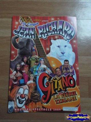 Programme du Cirque Jean Richard-2009 (n°61)