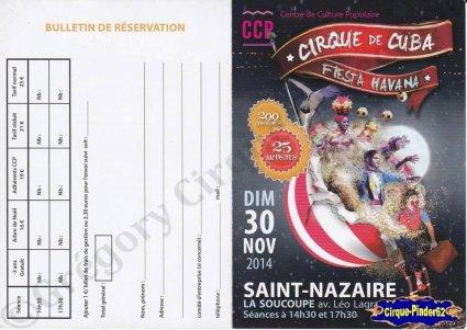 Flyer du Cirque de Cuba-2014 (n°910)