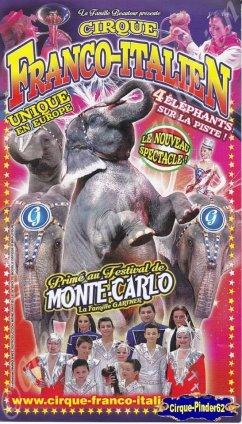 Flyer du Cirque Franco Italien-2015 (n°913)