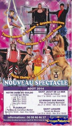 Flyer du Cirque Gervais-2014 (n°929)