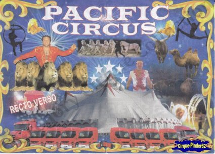 Flyer du Pacific Circus-2014 (n°919)
