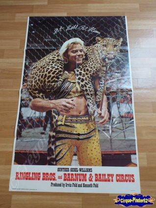 Affiche magasin du Ringling Bros and Barnum & Bailey Circus-1979 (n°481)