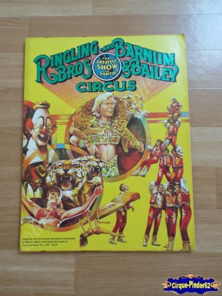 Programme du Ringling Bros and Barnum & Bailey Circus-1979 (n°79)