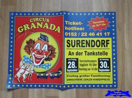 Affiche magasin du Circus Granada (n°645)
