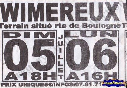 Flyer du Cirque de France-2015 (n°951)