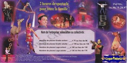 Flyer du Cirque Paradiso-2014 (n°1000)