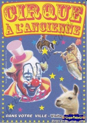 Flyer du Cirque à l'Ancienne (n°956)