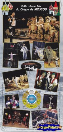 Flyer du Cirque Médrano-2000 (n°1022)