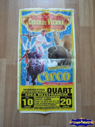 Affiche magasin du Circo di Vienna-2015 (n°502)