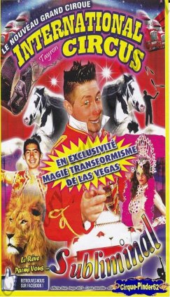 Flyer de l'International Circus (n°1017)