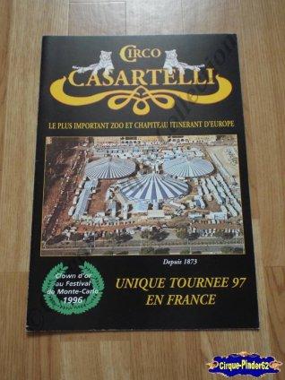 Programme du Circo Casartelli-1997 (n°98)