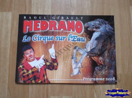 Programme du Cirque Médrano-2006 (n°100)