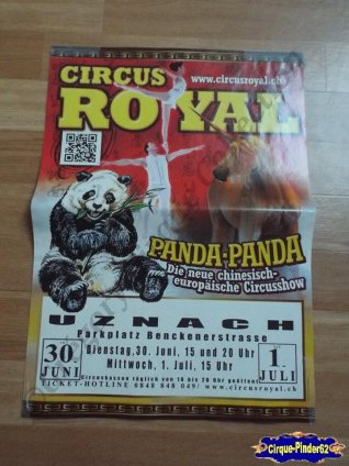 Affiche magasin du Circus Royal-2015 (n°514)