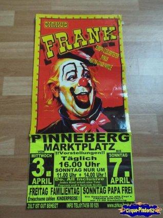 Affiche magasin du Zirkus Frank (n°513)