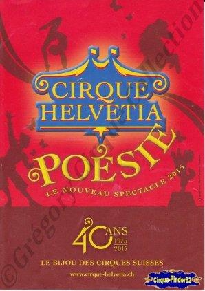 Flyer du Cirque Helvetia-2015 (n°1063)