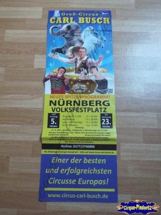 Affiche magasin du Cirque Busch (Carl)-2012 (n°521)